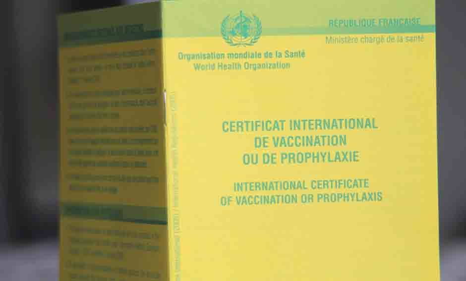 centre spécialisé poue carnet de vaccination international