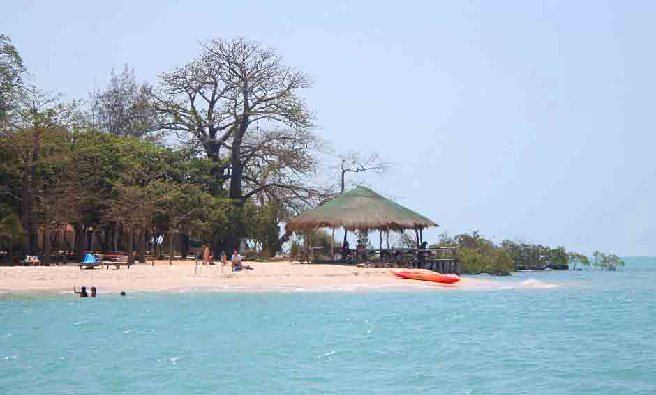 white sand beach africa kere bathing free activity