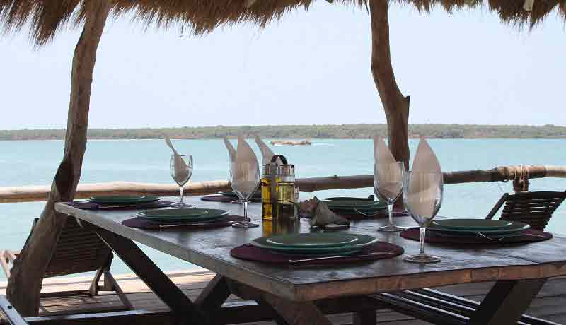 Best fish restaurant and sea view in Guinea bissau