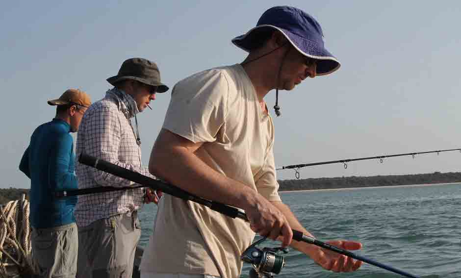 adventure sportive fishing stay west africa guinnea bissau
