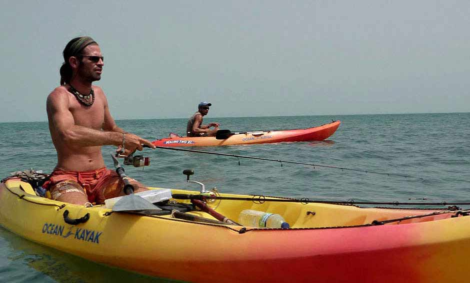 Kayaking around kere